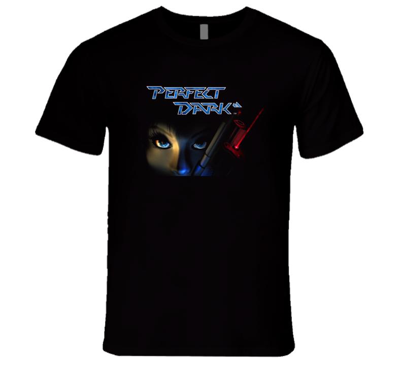 Perfect Dark Retro Video Game Joanna Dark T Shirt