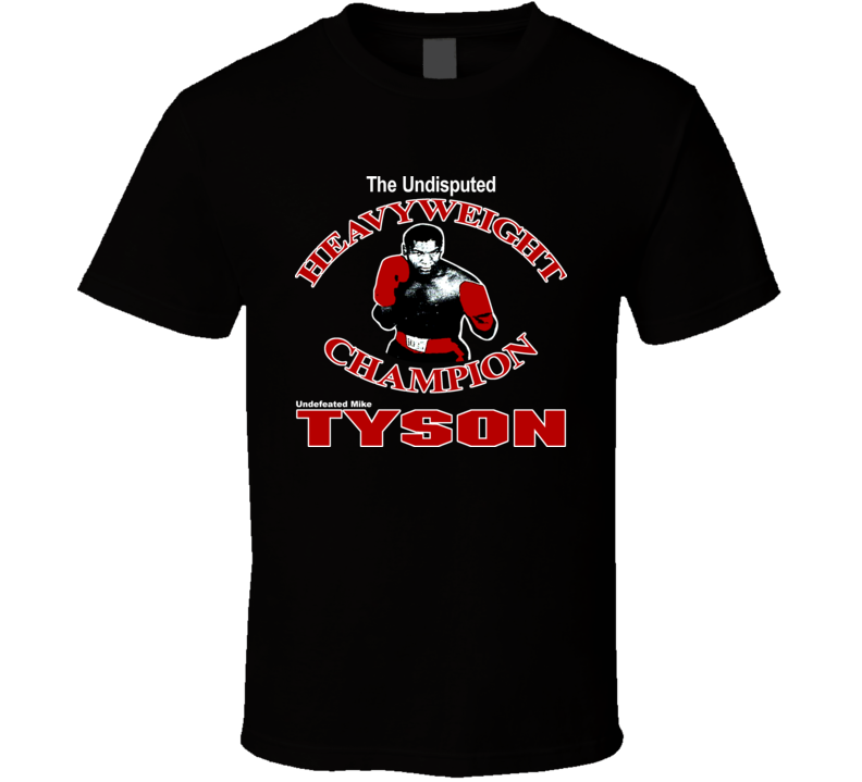 Mike Tyson Classic Retro Boxing T Shirt