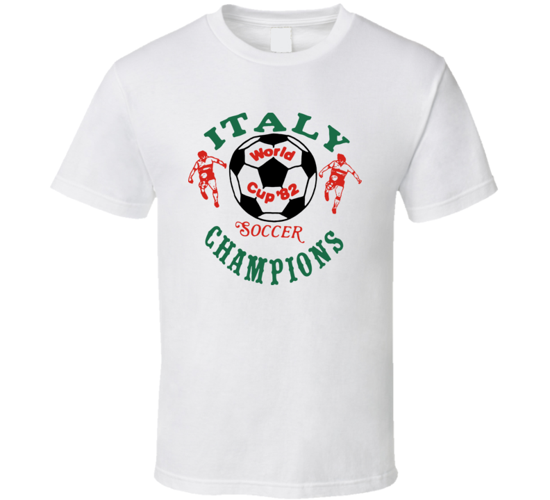 Italy World Cup Champions Retro T Shirt
