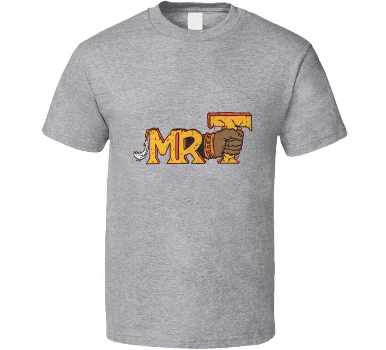 MR. T Retro 80's Cartoon T Shirt