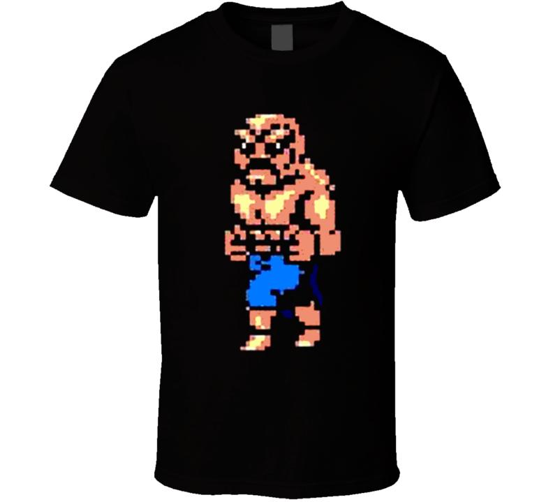 Double Dragon Abobo 8 Bit T Shirt