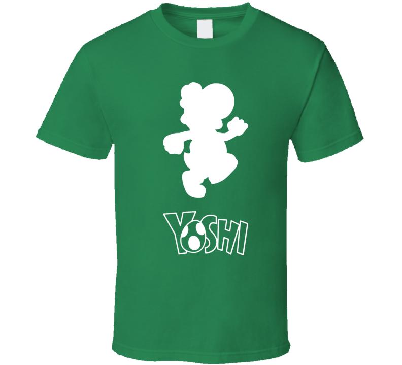 Yoshi Super Mario Nintendo T Shirt