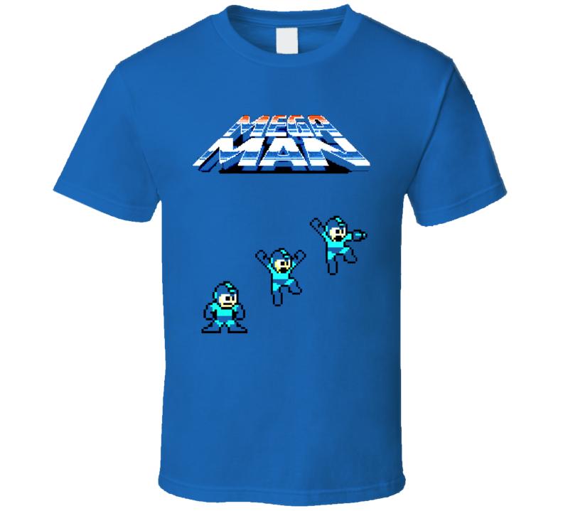 Mega Man Classic NES Video Game T Shirt