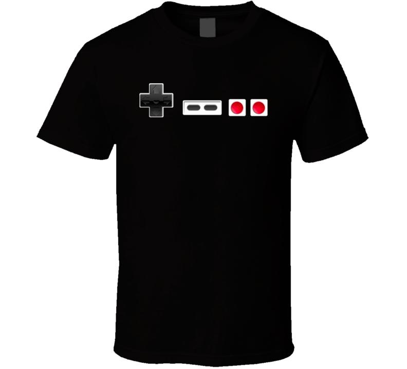 NES Retro Nintendo Controller T Shirt