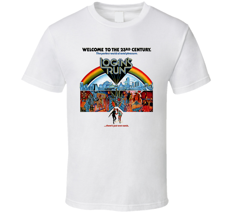 Logans Run Classic Sci Fi Movie T Shirt