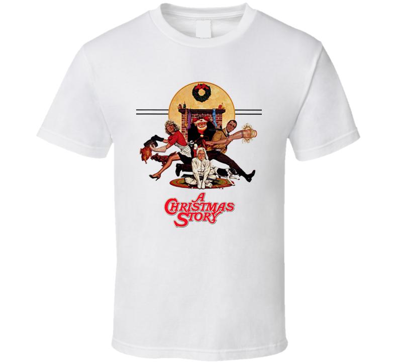 A Christmas Story Classic Movie T Shirt