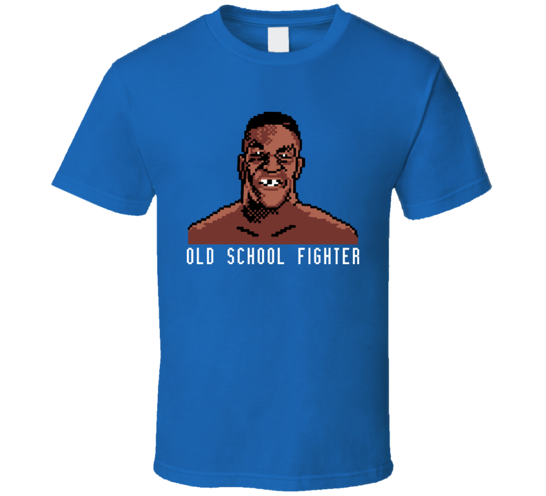 Mike Tyson's Punch Out Video Game 8 Bit T Shirt