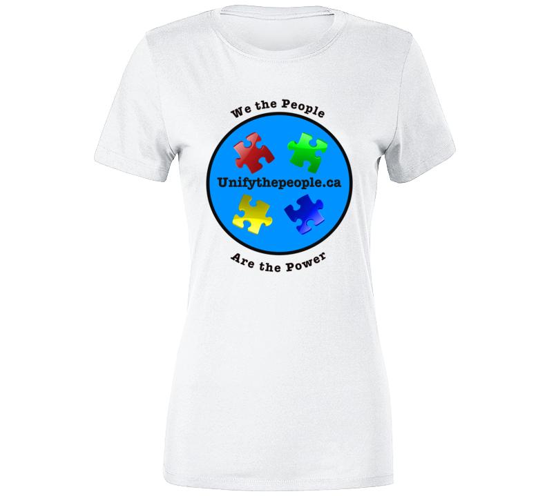 Unify The People  Premium Ladies T Shirt