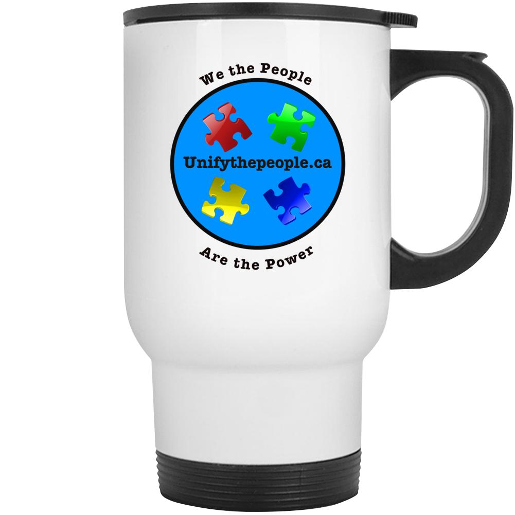 Unify The People Travel Mug