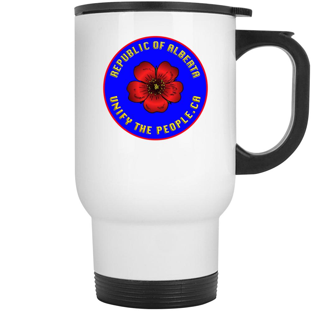 Republic Of Alberta With Unify Travel Mug