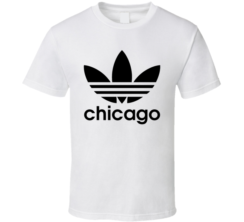 Chicago Best City Adidas Logo T Shirt