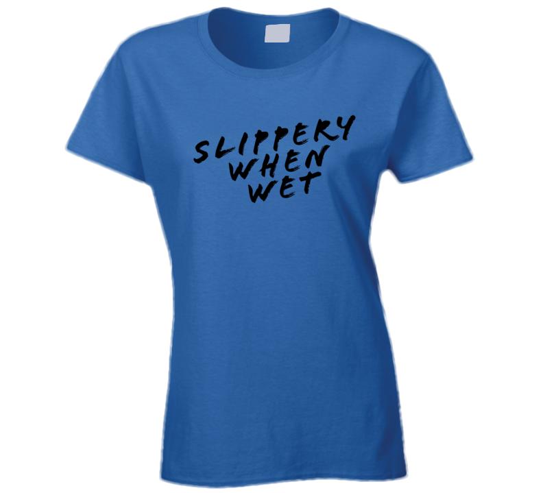 f258b501524 Fergie Milf Music Video Slippery When Wet T Shirt