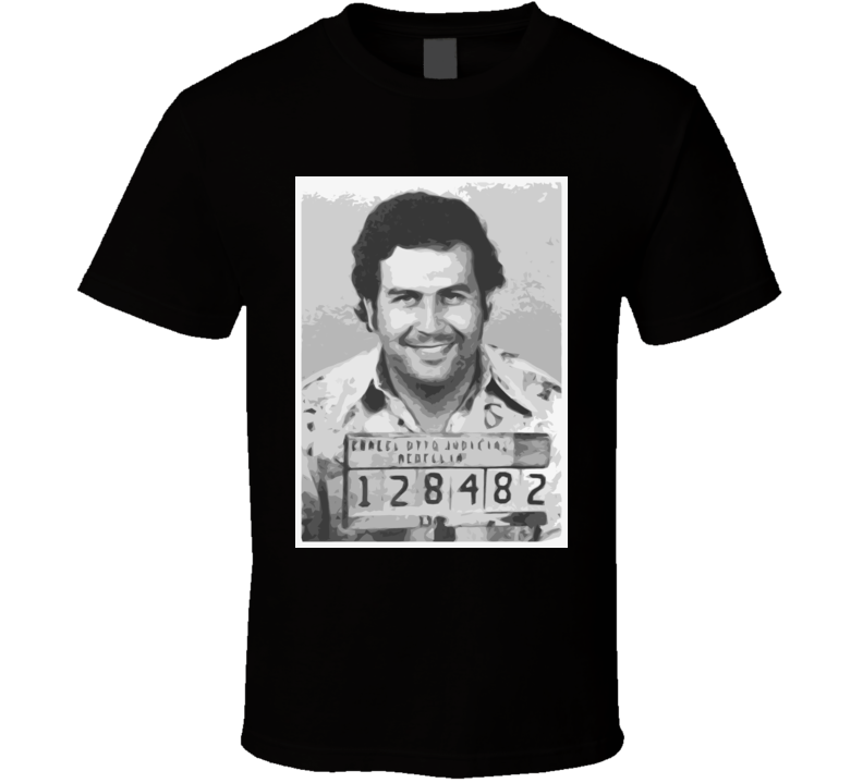 Pablo Escobar Mug Shot T Shirt