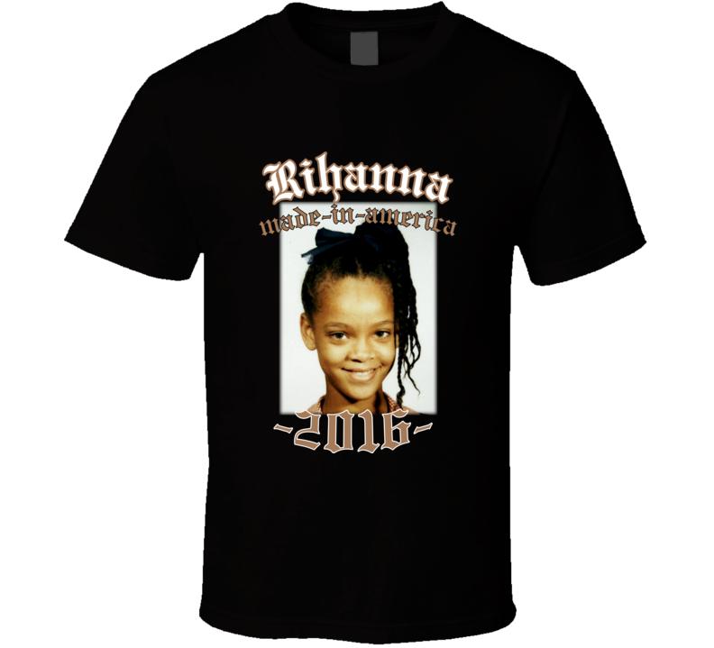 Rihanna Made In America 2016 Tour T Shirt