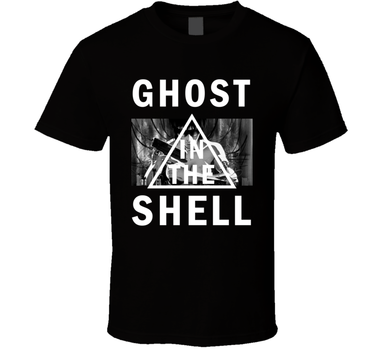 Ghost In The Shell Cool Anime Movie T Shirt