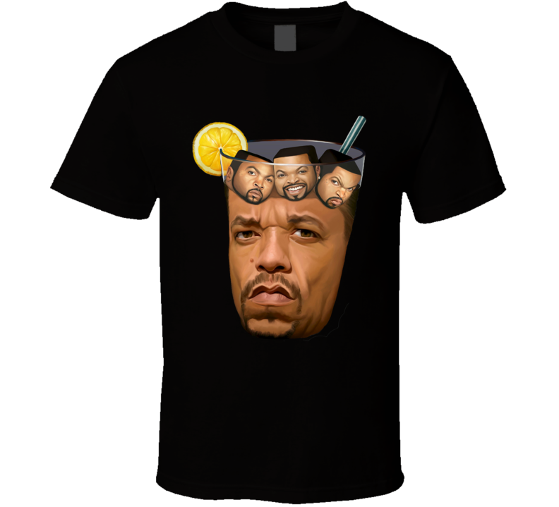 Ice T Ice Cube Funny Iced Tea Hip Hop Fan T Shirt