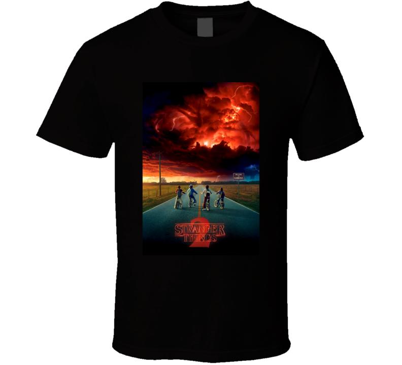 Stranger Things Season 2 Poster Netflix Fan T Shirt