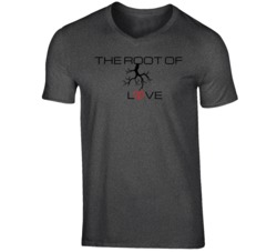 THE ROOT OF LOVE V-Neck T Shirt