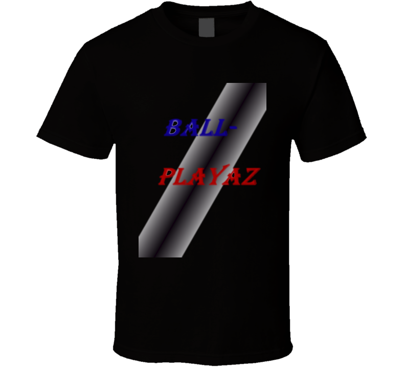 Limited Edition Blk Ballplayaz T-shit T Shirt