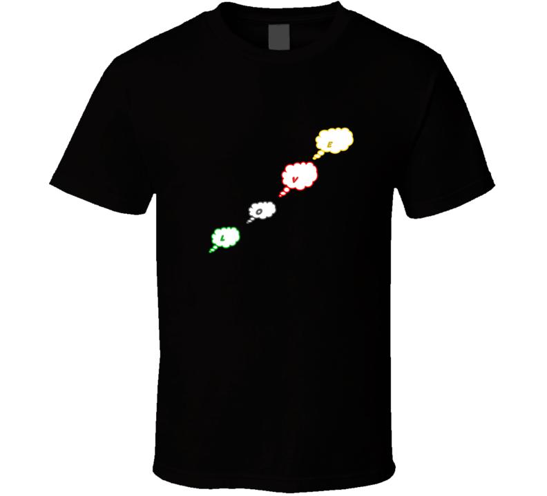 Love Bubble Cloud T-shirt