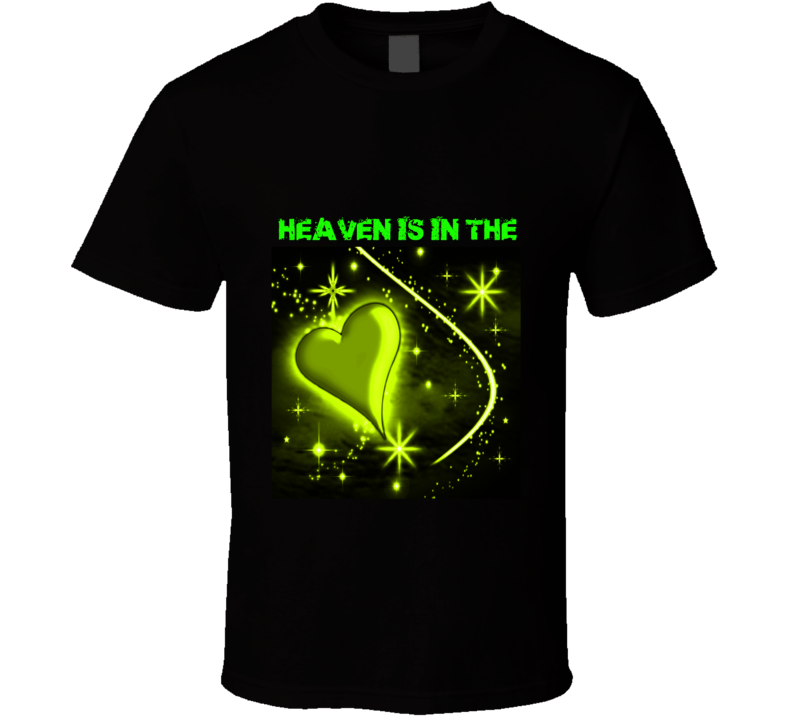 Heaven Is In The Heart T-shirt For The Summer (women And Men)