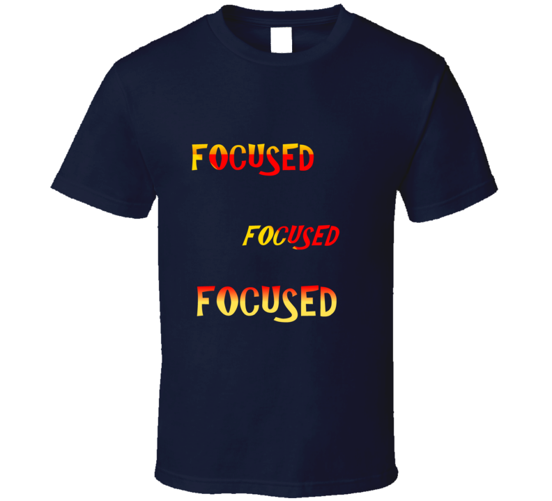 Focused V-neck T Shirt