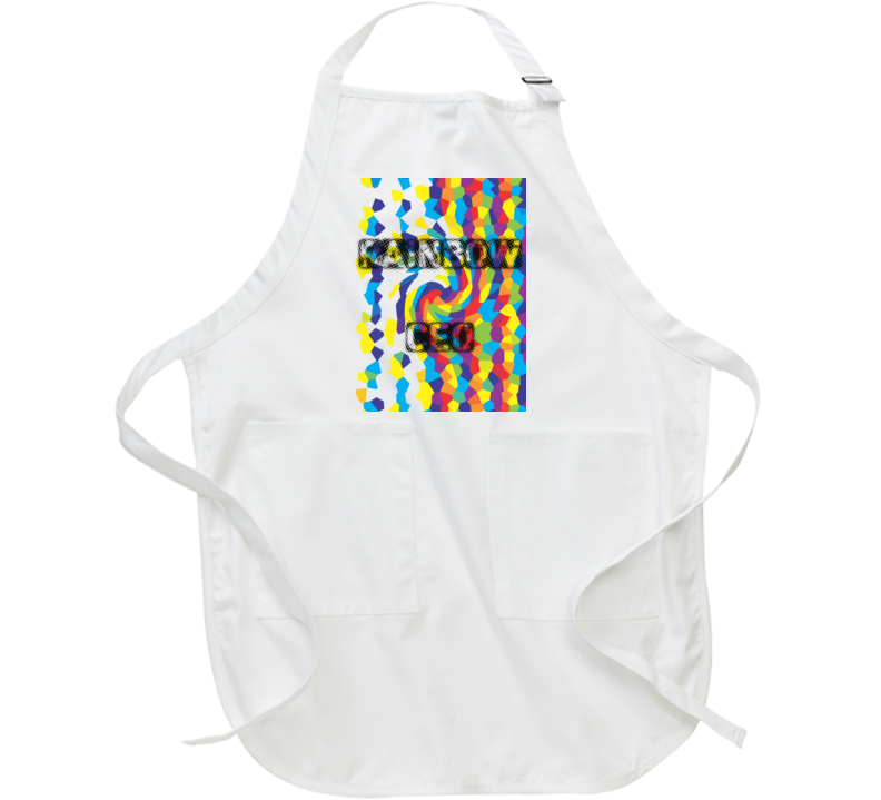 Rainbow Ceo Cooking/ Grilling Apron