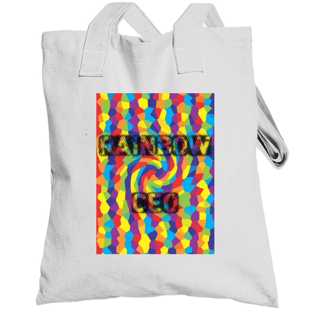 Rainbow Ceo Collection 100% Cotton Totebag