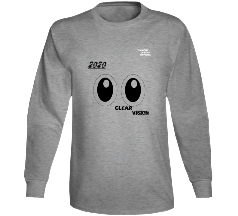 2020 Clear Vision From The Chris Hughes Collection  Long Sleeve