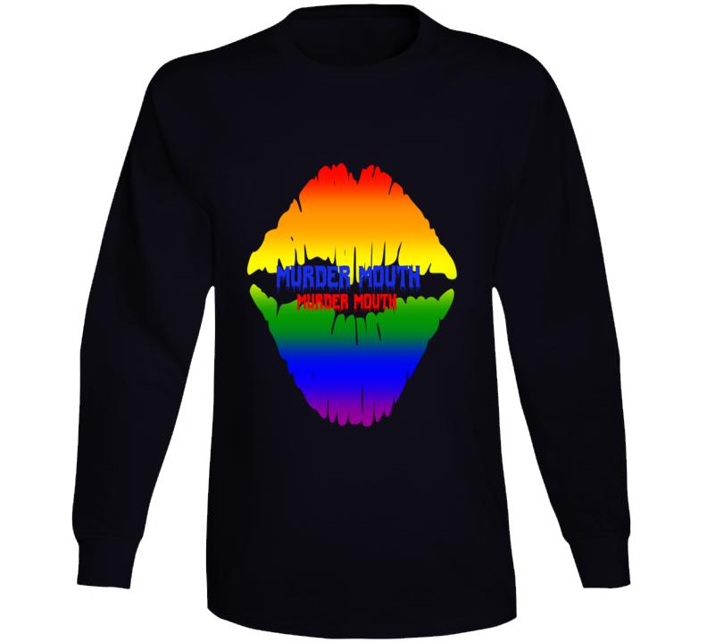 Rainbow Murder Mouth Long Sleeve