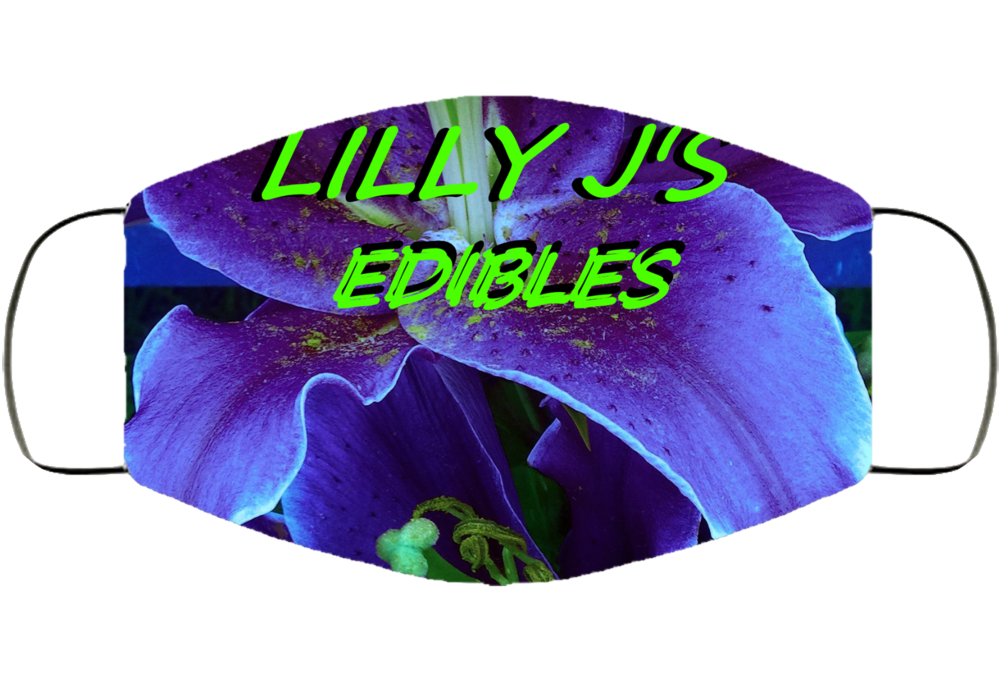 Lilly J's Edibles Face Mask Cover