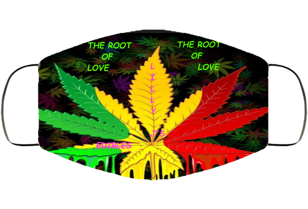 The Root Of Love Mary Jane Logo Face Mask Cover