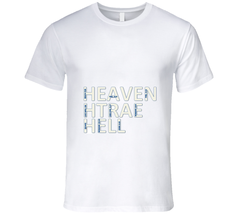 Heaven Earth Hell T Shirt