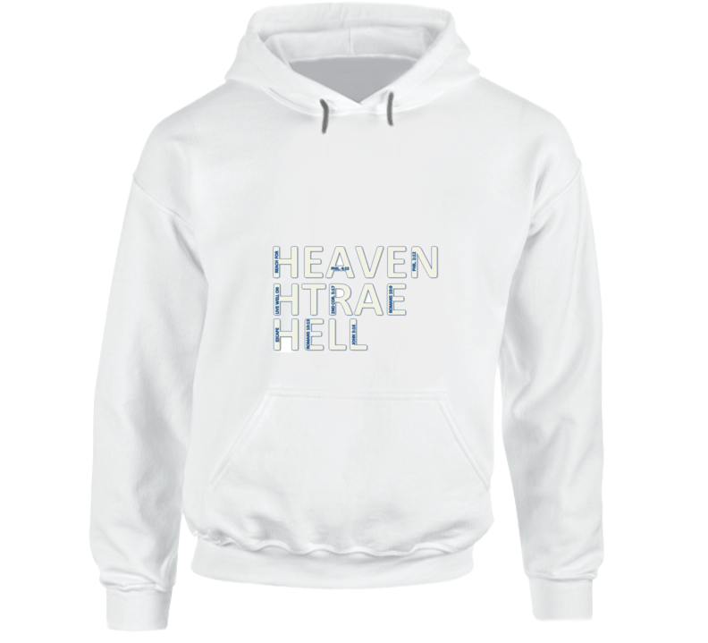 Heaven Earth Hell Hoodie