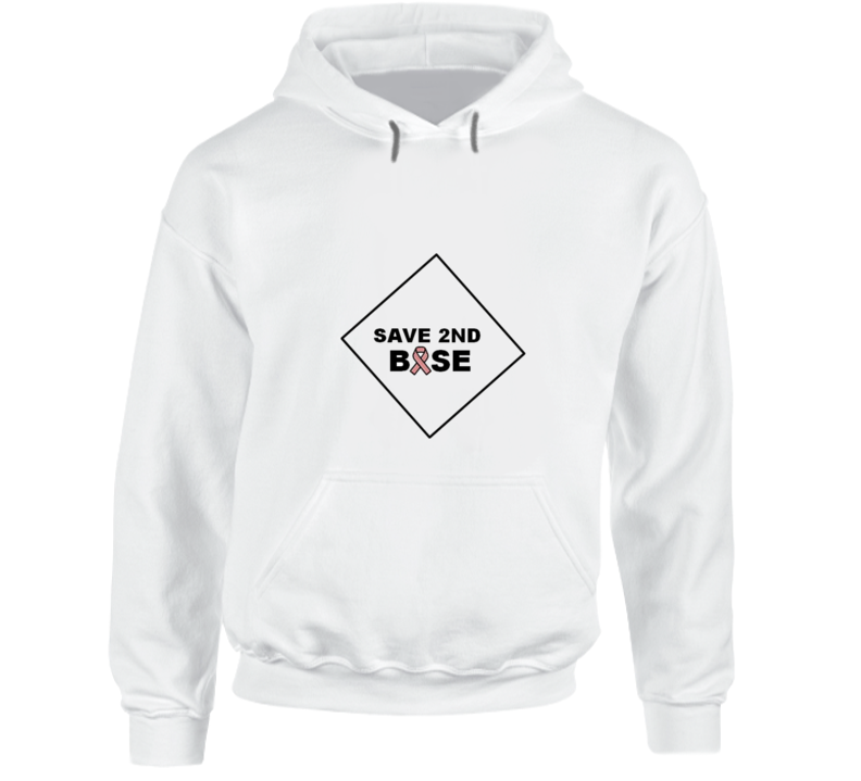 Save 2nd Base 3 Hoodie