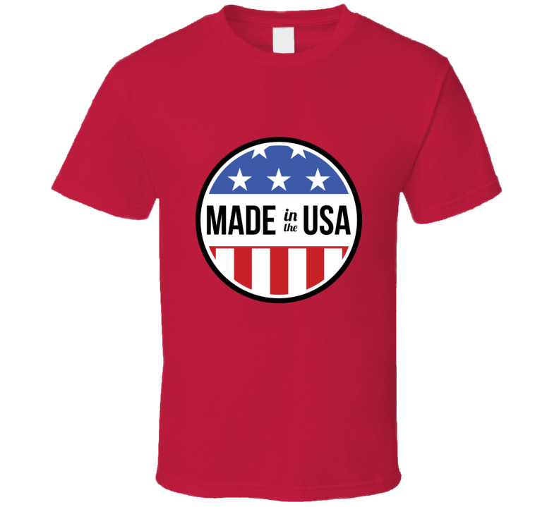 Made in the USA Fan T Shirt