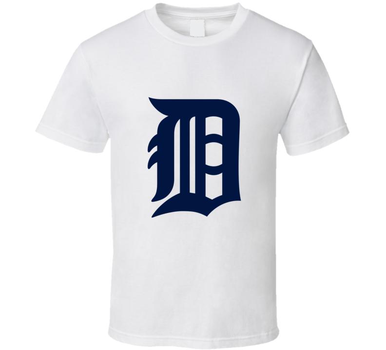 Detroit Tigers Baseball Fan T Shirt