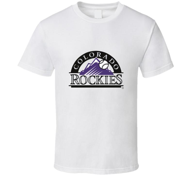 Colorado Rockies Baseball Fan T Shirt