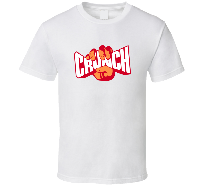Crunch Gym Fitness Fan T Shirt