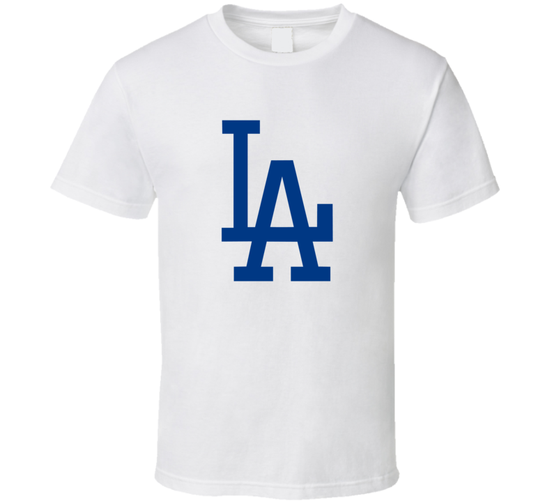 LA Dodgers Baseball Fan T Shirt