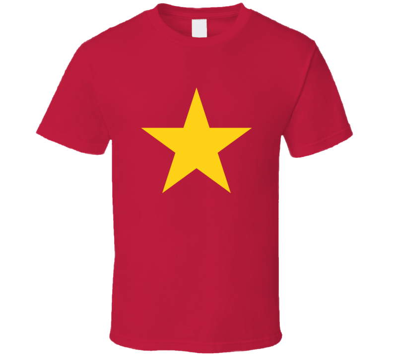 Vietnamese Star Fan T Shirt