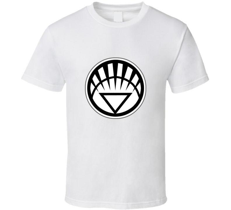 White Lantern Logo Fan T Shirt