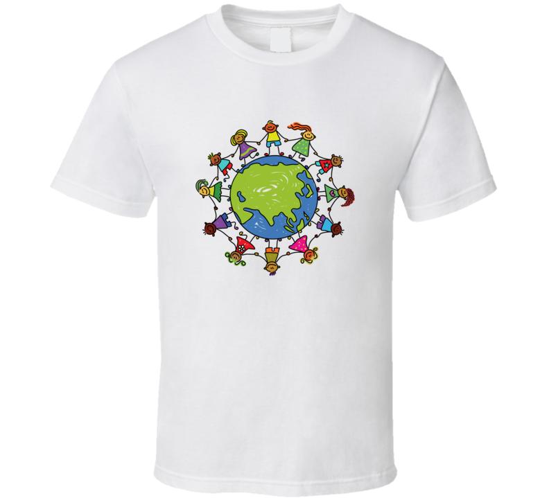 Around The World Kids T Shirt