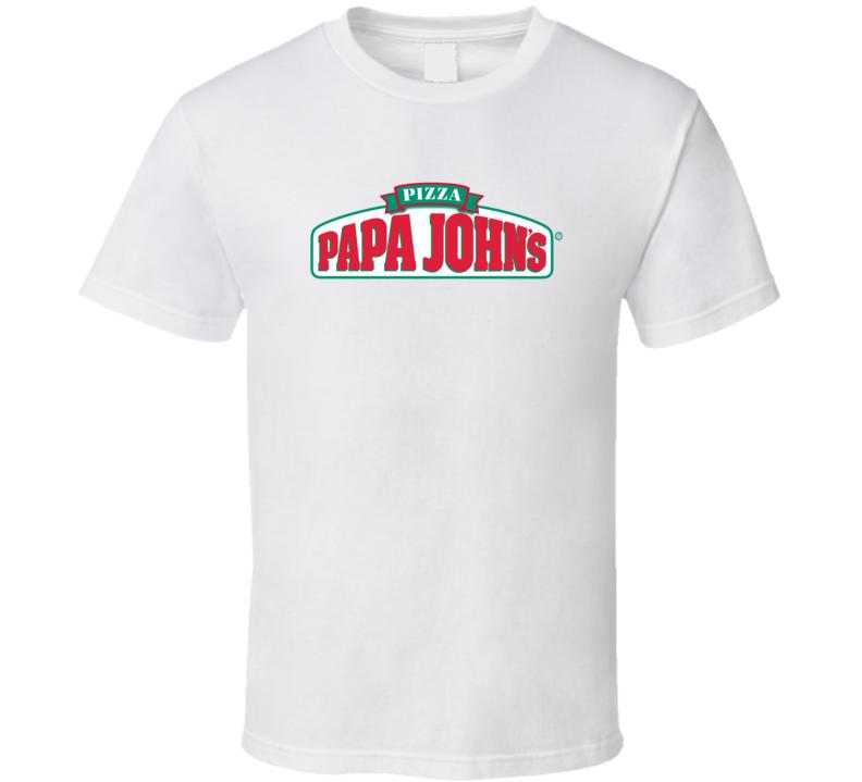 Papa John's Pizza Fan T Shirt