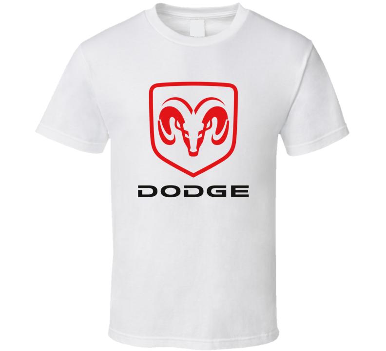 Dodge Cars Logo Fan T Shirt
