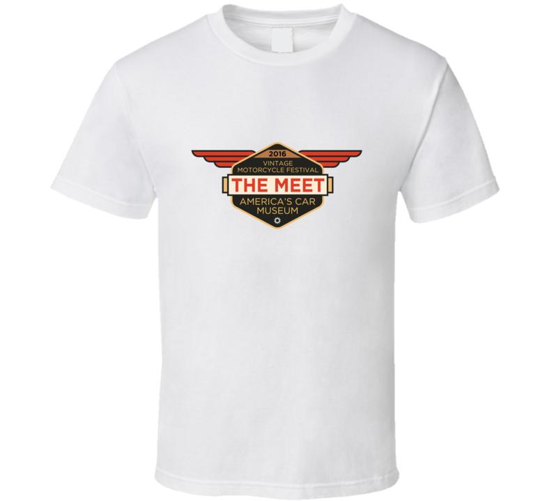 Vintage Motorcycle Festival Fan T Shirt