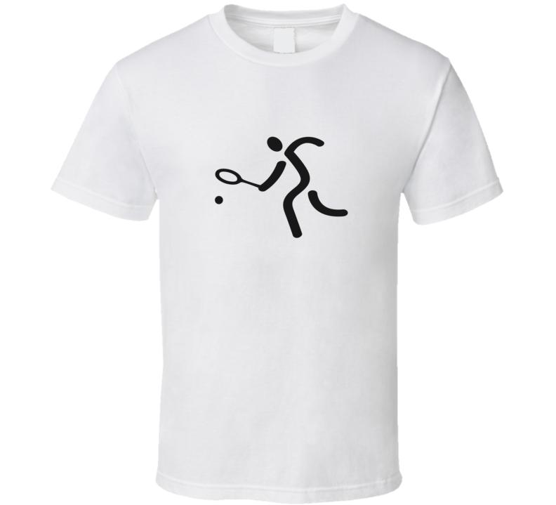 Tennis Bloke Fan T Shirt