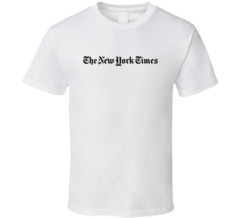 The New York Times Fan T Shirt