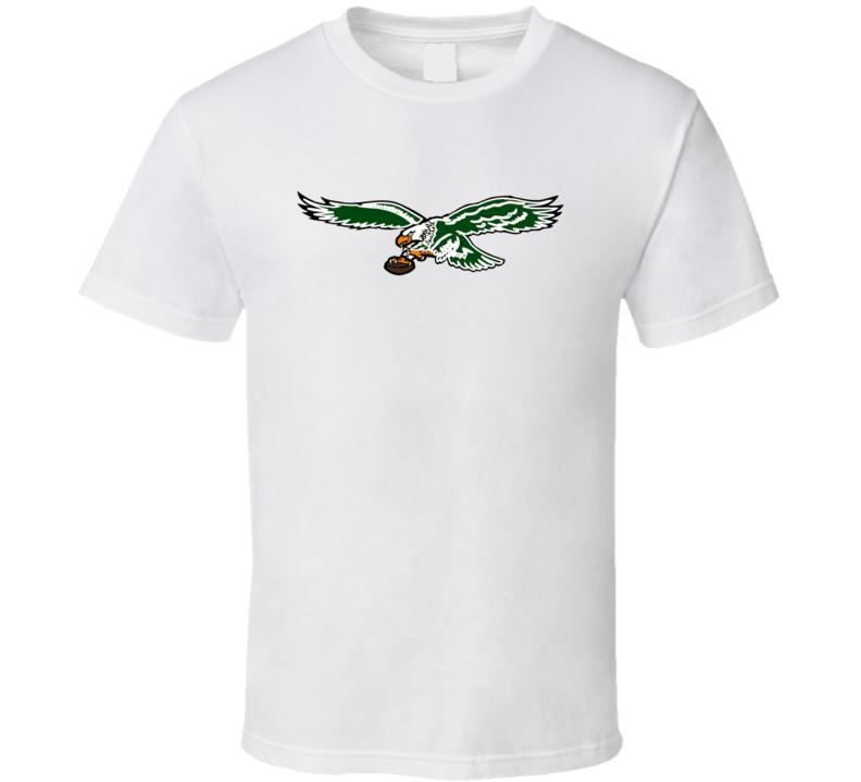 Philadelphia Eagles Retro Logo Fan T Shirt 1987-1995