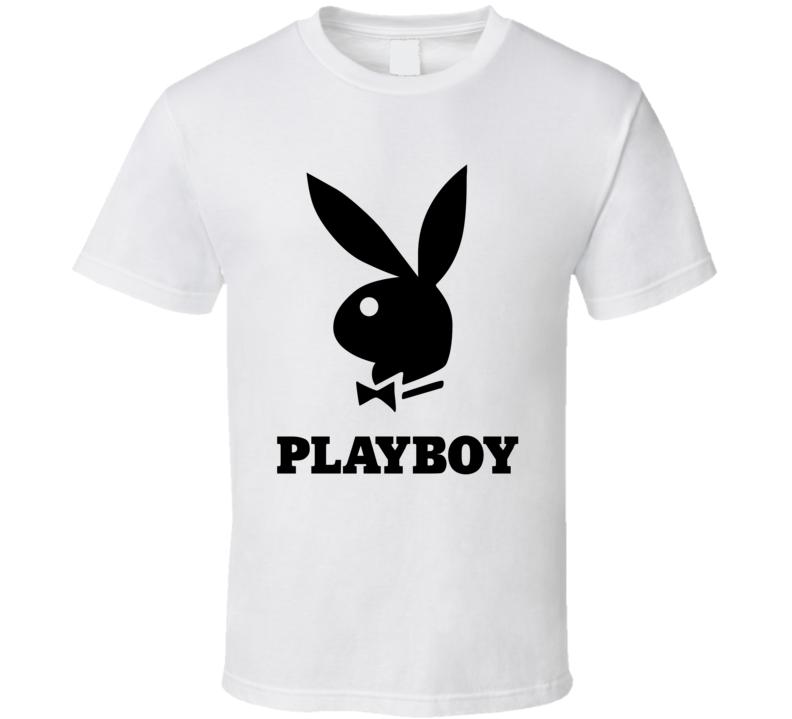 Playboy With Logo Fan T Shirt